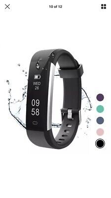 Letsfit Fitness Tracker, Activity Tracker IP67 Waterproof Pedometer Step Counter