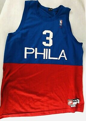 new style a6017 554ec VINTAGE PHILADELPHIA 76ERS Sixers Allen Iverson Jersey by ...