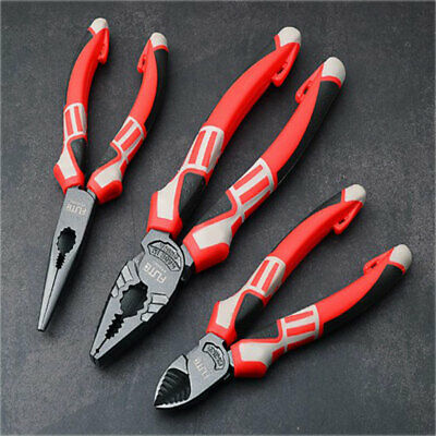 "New Heavy Duty 6""/8"" Classic All Round Plier Set Made In Germany Trade Quality"