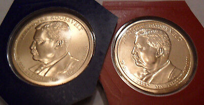 2013 P & D Theodore Roosevelt Presidential Set  *MINT CELLO*  **FREE SHIPPING