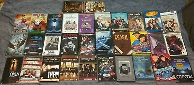 Job Lot of 32 DVDs - Movies & TV - Comedy, Horror, Sci-Fi, Documentaries,