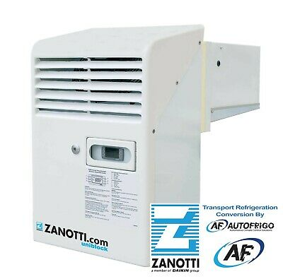 AS-R Zanotti S.p.A -25°C Transportable Cool Room Trailer Refrig Unit BAS123T644S