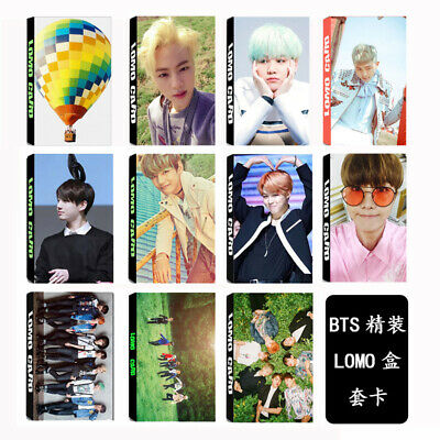 30PC/1set KPOP BTS Personal Collective Bangtan Boys Photocard Poster Lomo Cards