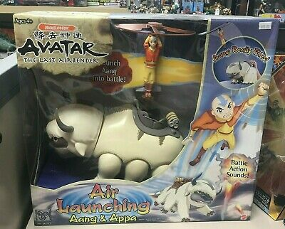 Avatar The Last Airbender Air Launching Aang And Appa New Sealed Mattel 2005