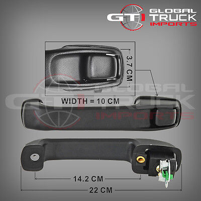 Hino Pro 500 Series Outer Door Handle L/H - 2003 Onwards (Hm03-Odhl)