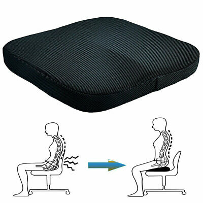Pressure Relief Memory Foam Wheelchair Seat Support Comfort Chair Cushion Office