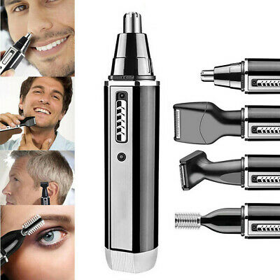 4in1 Nose Ear Hair Trimmer Beard and Eyebrow Clipper Kits Men Eyebrow Clipper