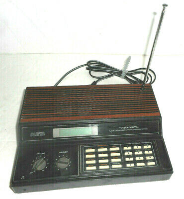 REALISTIC RADIO SHACK Pro-2024 60 Ch Scanner 20-129 - Tested