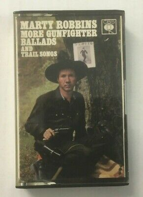 """Marty Robbins """"More Gunfighter Ballads & Trail Songs"""" Tape Cassette *40-62070*"""