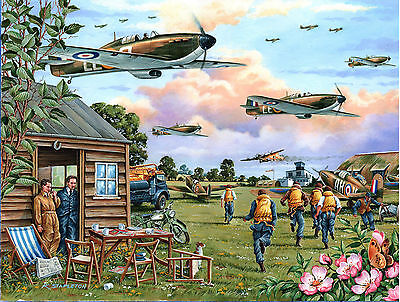 The House Of Puzzles - 1000 PIECE JIGSAW PUZZLE - Scramble Battle Of Britain