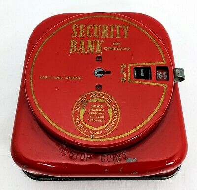 ADD A COIN Security Bank of Oregon Portland Federal Deposit Insurance Corp  VTG