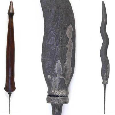 Magical Tombak Spear ROJO GUNDOLO Kris art sword dagger dukun Indonesia Keris