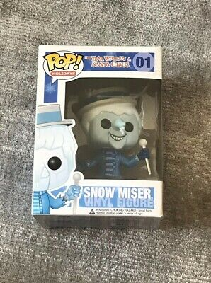 Snow Miser Funko Pop Yesr Without Santa Snow Miser 01 Holidays Vaulted