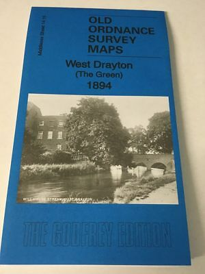 Old Ordnance Survey Map West Drayton (The Green) 1894