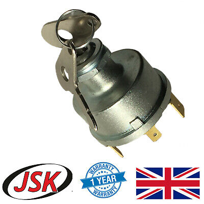 Ignition Starter Switch for David Brown 1210 1212 1290 1294 1390 1394 1410 1412