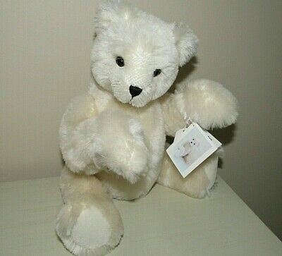 "Artist Made Schulte Mohair Jointed Bear ""Snowbelle"" by Margaret/Kelly Zimmerman"