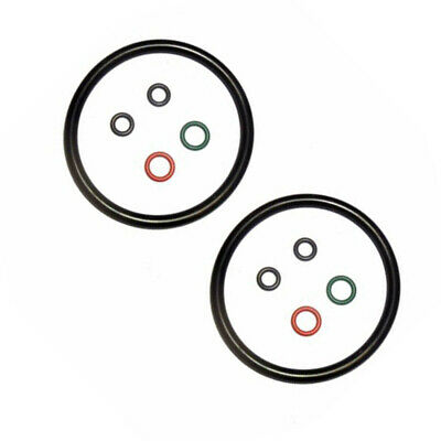 O-rings Black Accessory Tool Equipment 2 Sets Replacement Kit Seal Gasket