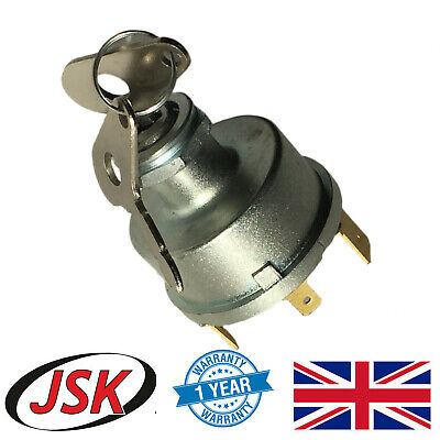 Ignition Starter Switch for David Brown 1490 1494 1594 1690 1690 Turbo 1695 ...