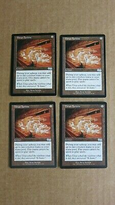 4x  THRAN TURBINE URZA'S  SAGA  USG    PLAYSET  MTG Magic the Gathering  NM  #2
