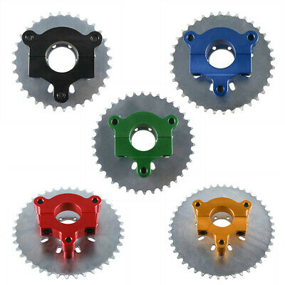 "32//36//38//40//44T Sprocket CNC Adapter 415 Chain 1.5/"" For 60cc 80cc Motorized Bike"