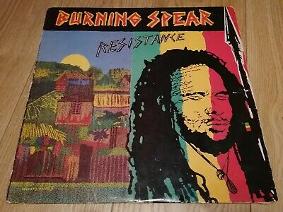 Burning Spear – Resistance - Heartbeat Records HB33 - Roots Reggae LP