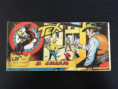 Tex Stripes Serie Navajo N.22 the Sicario - Mint Condition