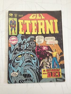 Gli Eternal 1 Con Stickers Excellent - Editoriale Horn - in Mint Condition
