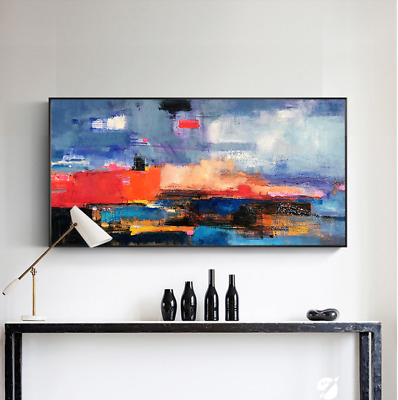 VV813 Modern large abstract oil paintng 100% Hand-painted on canvas Frameless