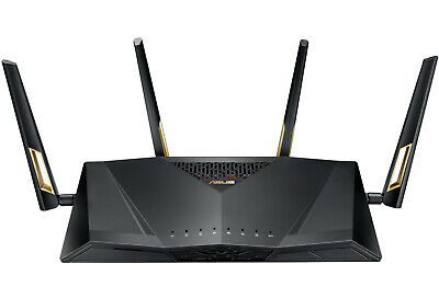 Asus - RT-AX88U - AX6000 Dual Band WiFi Router