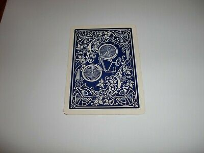 original vintage bicycle single playing card 1890's-1900's king of hearts