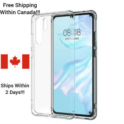 For Huawei P30 P30 Pro soft Clear TPU Case Shockproof