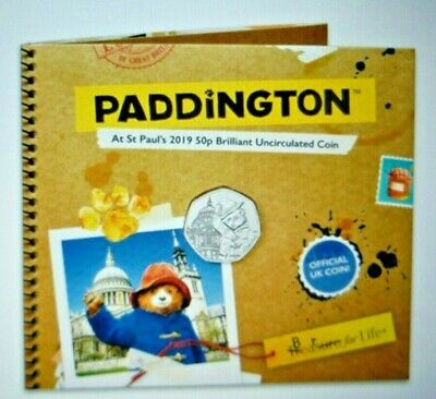 2019 PADDINGTON  AT St PAULS 50p COIN OFFICIAL ROYAL MINT PACK B/U PRE-ORDER