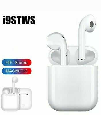 i9s TWS Bluetooth 5.0 Wireless Bluetooth Headset Headphones ✔️ For Apple AirPods