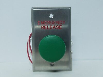 Dortronics N5211-MP23DA//GXE1 Narrow Style Push Button with Delay Switch NEW!