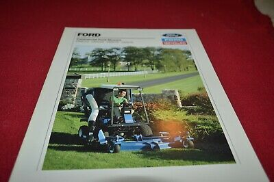 New Holland CM222 CM224 CM272 CM274 Commercial Front Mower Brochure AMIL15 ver7