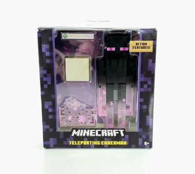 Minecraft New Lg 7 Teleporting Enderman Toy Action Figure
