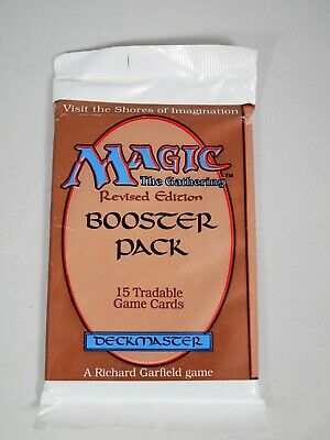 Magic: The Gathering MTG Factory Sealed Revised 3rd Edition Booster Pack