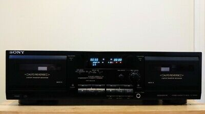 Sony TC-WR535 Cassette Deck {{{REFURBISHED}}}