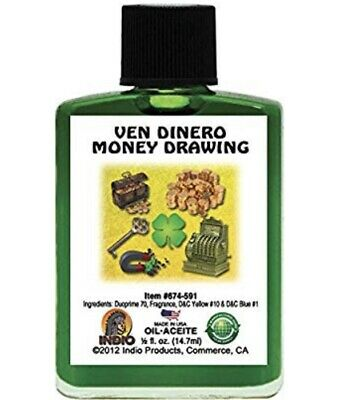 Money Drawing Oil, Success Oil, Magnet Oil Bundle Oil's Wicca HooDoo