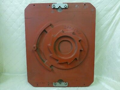 Wood Foundry Pattern Wheel Winch Ratchet Casting Mold Steampunk Industrial