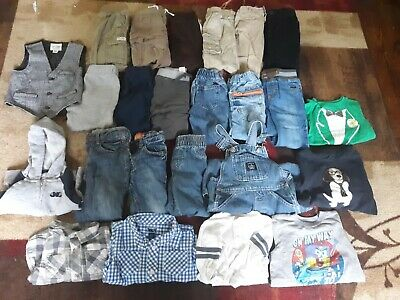Lot Toddler Boys Clothing, Size 12-18 Months,18-24 Months. Baby Gap,Gymboree,Etc