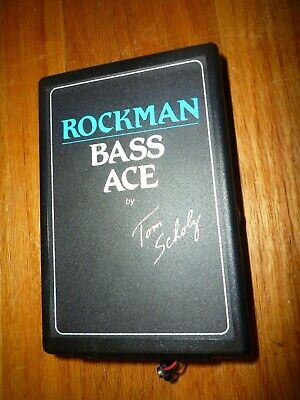 DUNLOP ROCKMAN BASS Ace Headphone Amp w/ EQ & Compression