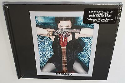 Madonna Madame X (2019) Brand New Sealed Deluxe 2Cd Edition Hardcover Digibook