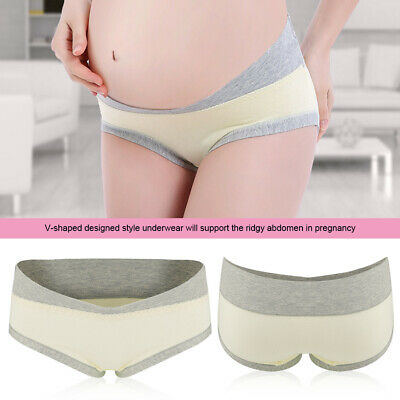 Soft Breathable Pregnancy Maternity Underwear Low Waist Women Briefs Panties