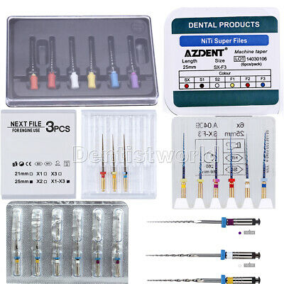 Dental Endo Root Canal Apex Locater Super Taper Rotary File Engine/Hand Use