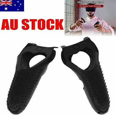 2PCS Silicone Case Cover Skin for Oculus RIFT-S & Quest Touch Controllers #AU