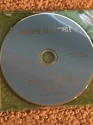 Mission: Impossible - Five Movie Collection Never Watched MI 1,2,3,4,5
