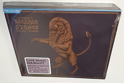 The Rolling Stones Bridges To Bremen (Live From Germany) Brand New 2Cd + Bluray