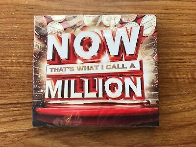 NOW That's What I Call A Million (CD) Brand New Sealed