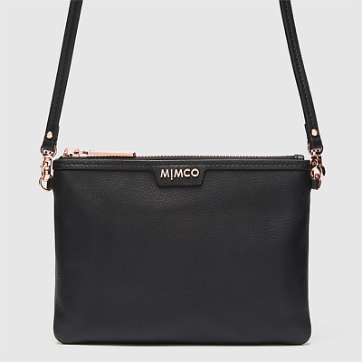 MIMCO Classico medium Clutch Pouch Leather Crossbody Shoulder bag Authentic new